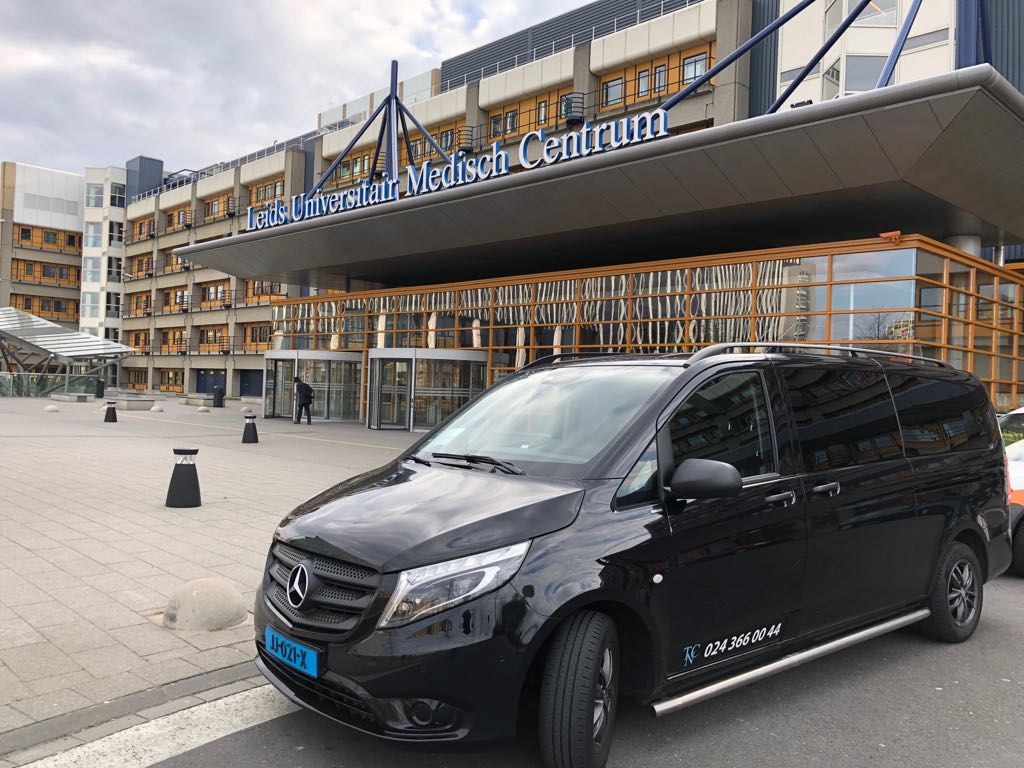 Ziekenhuisvervoer per privé taxi Nijmegen